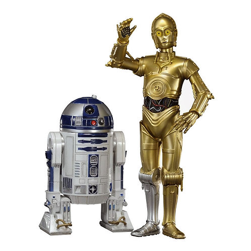 STAR WARS C-3PO & R2-D2 SET (ESTÁTUAS)
