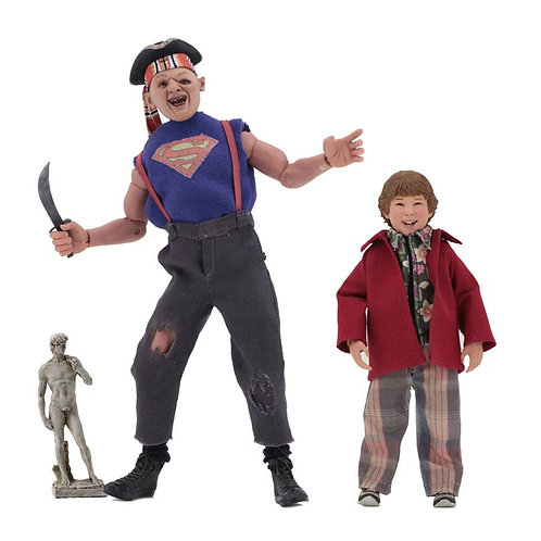 THE GOONIES RETRO FIGURE PACK SLOTH & CHUNK (ACTION FIGURE)