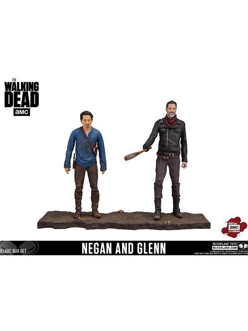 THE WALKING DEAD TV VERSION 2 PACK NEGAN & GLENN (ACTION FIGURE)