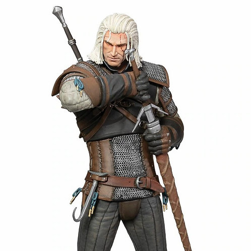 WITCHER 3 WILD HUNT HEART OF STONE GERALT DELUXE (ESTÁTUA)