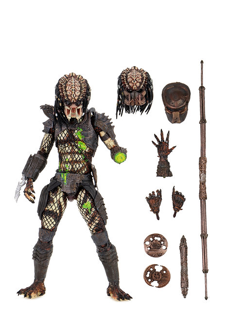PREDATOR 2 ULTIMATE BATTLE DAMAGED CITY HUNTER (ACTION FIGURE)