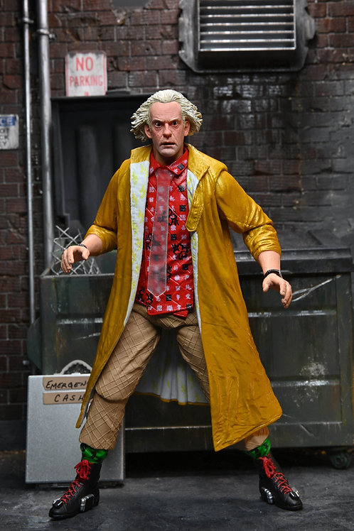 BACK TO THE FUTURE 2 ULTIMATE DOC BROWN (ACTION FIGURE)