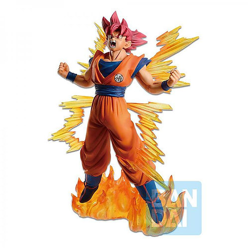 DRAGON SUPER ICHIBANSHO SUPER SAIYAN GOD GOKU (ESTÁTUA)