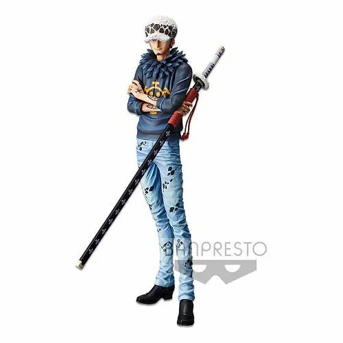 ONE PIECE GRANDISTA RESOLUTION OF SOLDIERS TRAFALGAR LAW (ESTÁTUA)
