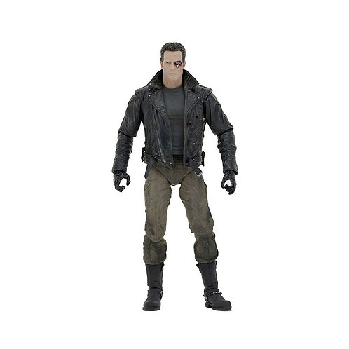 TERMINATOR ULTIMATE POLICE STA. ASSAULT T-800 MOTORCYCLE JACKET (ACTION FIGURE)
