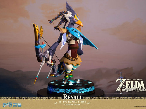 THE LEGEND OF ZELDA BREATH OF THE WILD REVALI COLLECTOR'S EDITION (ESTÁTUA)