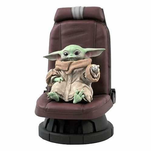 STAR WARS THE MANDALORIAN PREMIER COLLECTION THE CHILD IN CHAIR (ESTÁTUA)