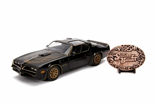 SMOKEY AND THE BANDIT HOLLYWOOD RIDES DIECAST MODEL 1977 PONTIAC FIREBIRD