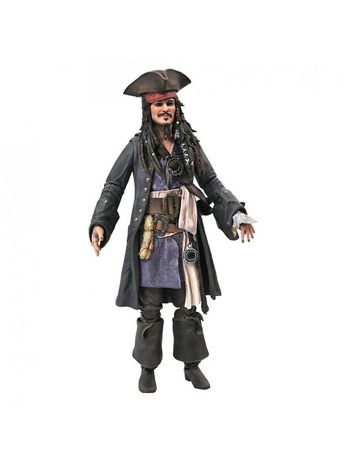 PIRATES OF THE CARIBBEAN DELUXE JACK SPARROW (ACTION FIGURE)