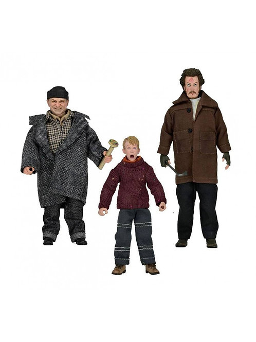 HOME ALONE RETRO 3 PACK KEVIN, HARRY & MARV (ACTION FIGURE)