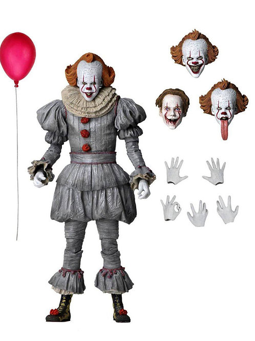IT CHAPTER TWO ULTIMATE PENNYWISE (ACTION FIGURE)
