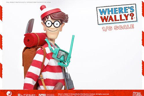 WHERE'S WALLY? MEGA HERO WALLY BIG SIZE (ACTION FIGURE)