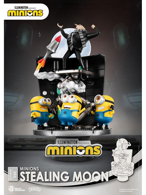 MINIONS D-STAGE STEALING MOON (ESTÁTUA)