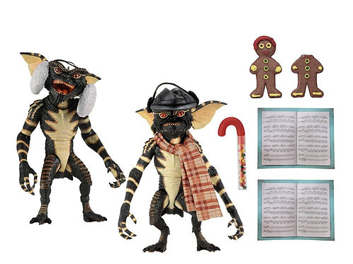 GREMLINS PACK CHRISTMAS CAROL WINTER SCENE SET 2 (ACTION FIGURE)