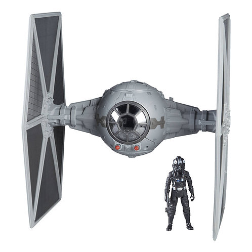 SOLO FORCE LINK 2.0 CLASS C VEÍCULO TIE FIGHTER  + FIGURA