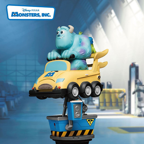 DISNEY COIN RIDE SERIES D-STAGE MONSTERS INC. (ESTÁTUA)