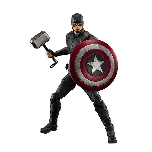 AVENGERS ENDGAME SH FIGUARTS CAPTAIN AMERICA FINAL BATTLE (ACTION FIGURE)