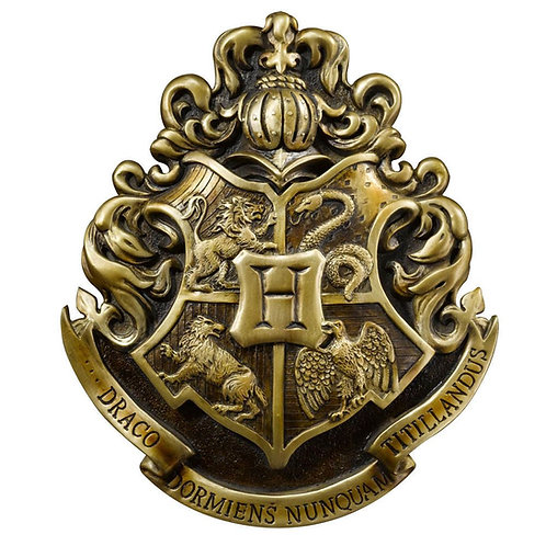 HARRY POTTER WALL ART HOGWARTS SCHOOL CREST