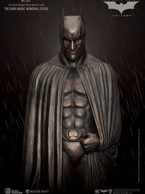 THE DARK KNIGHT RISES MASTER CRAFT THE DARK KNIGHT MEMORIAL BATMAN (ESTÁTUA)