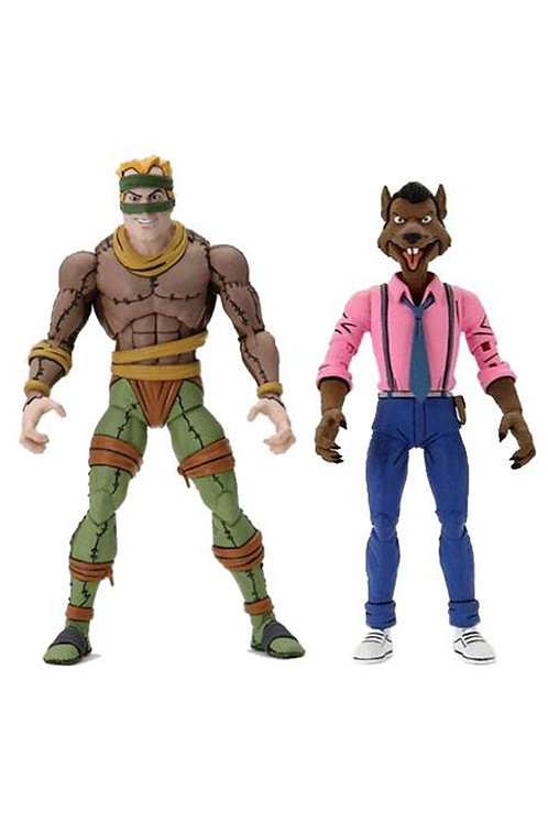 TMNT 2 PACK RAT KING & VERNON (ACTION FIGURE)
