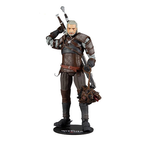 THE WITCHER GERALT (ACTION FIGURE)