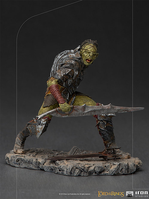 LORD OF THE RINGS BDS ART SCALE SWORDSMAN ORC (ESTÁTUA)
