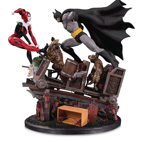 DC COMICS BATMAN vs HARLEY QUINN  BATTLE 2nd EDITION (ESTÁTUA)
