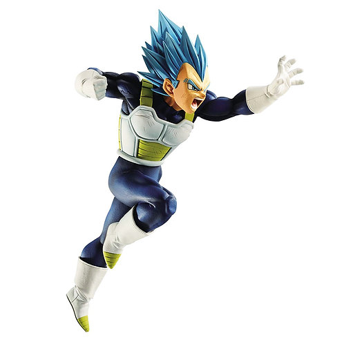 DRAGON BALL SUPER SAYAN GOD SUPER SAIYAN VEGETA Z BATTLE (ESTÁTUA)