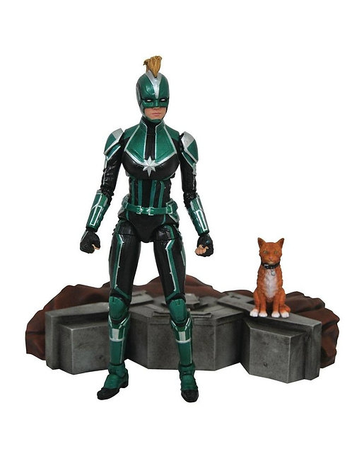 MARVEL SELECT CAPTAIN MARVEL STARFORCE UNIFORM (ACTION FIGURE)