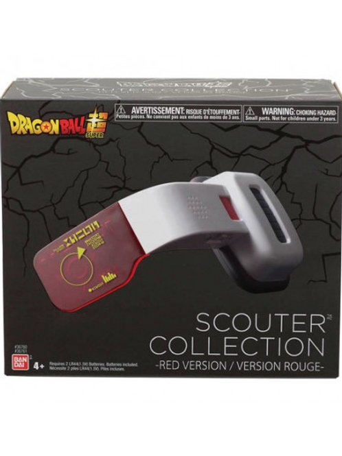 DRAGON BALL SCOUTER COLLECTION RED VERSION