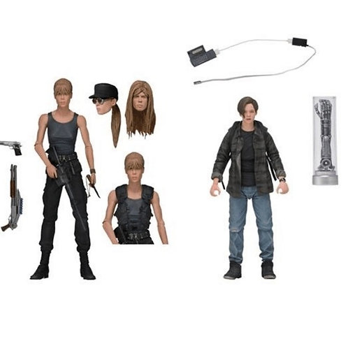 TERMINATOR 2 JUDGMENT DAY 2 PACK SARAH CONNOR & JOHN CONNOR (ACTION FIGURE)