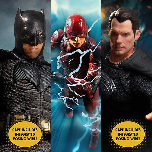 ZACK SNYDER'S JUSTICE LEAGUE DELUXE STEEL BOX (ACTION FIGURE)