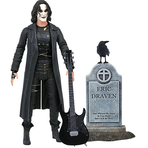 THE CROW DELUXE ERIC DRAVEN (ACTION FIGURE)