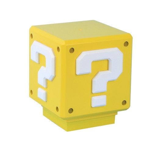 SUPER MARIO QUESTION BLOCK LUZ