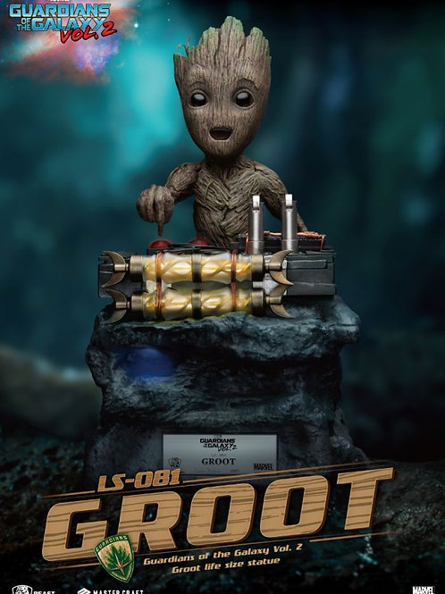 GUARDIANS OF THE GALAXY 2 LIFE-SIZE BABY GROOT (ESTÁTUA)