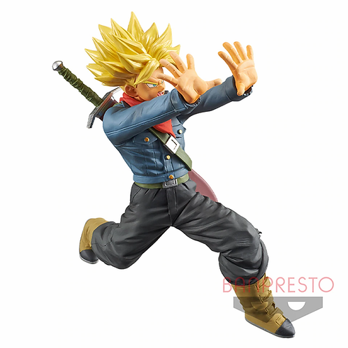 DRAGON BALL SUPER SUPER SAIYAN FUTURE TRUNKS GALIC GUN (ESTÁTUA)