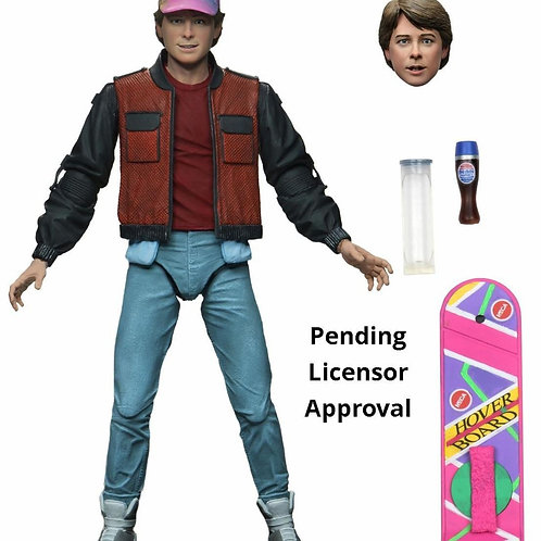 BACK TO THE FUTURE PART II ULTIMATE MARTY MCFLY (ACTION FIGURE)