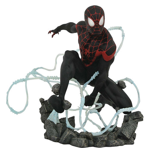 MARVEL COMIC PREMIER COLLECTION MILES MORALES SPIDER-MAN (ESTÁTUA)