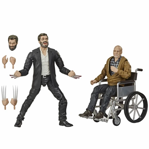 MARVEL LEGENDS 2 PACK 2020 LOGAN &  CHARLES XAVIER (ESTÁTUA)