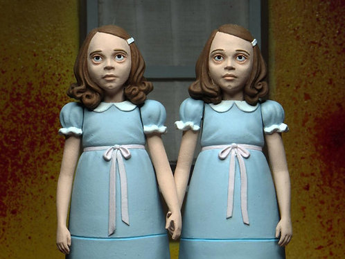 THE SHINNING 2 PACK GRADY TWINS TOONY TERRORS (ACTION FIGURE)