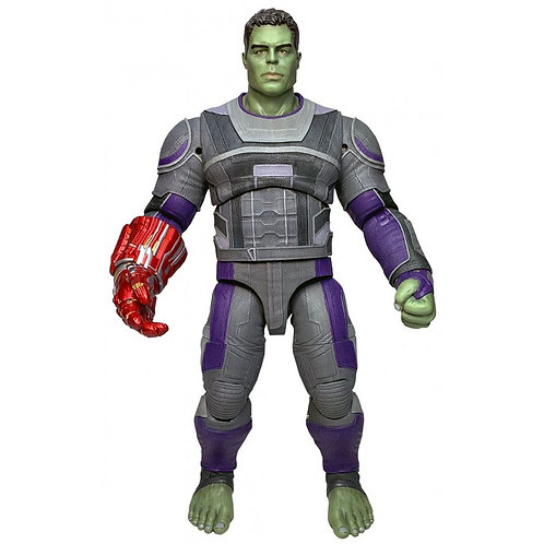 MARVEL SELECT AVENGERS ENDGAME HULK HERO SUIT (ACTION FIGURE)