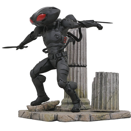 DC COMICS MOVIE GALLERY AQUAMAN BLACK MANTA (ESTÁTUA)
