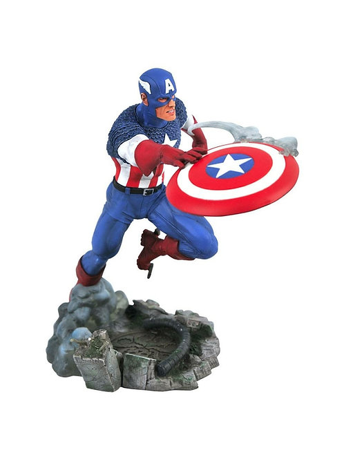 MARVEL COMIC GALLERY CAPTAIN AMERICA (ESTÁTUA)