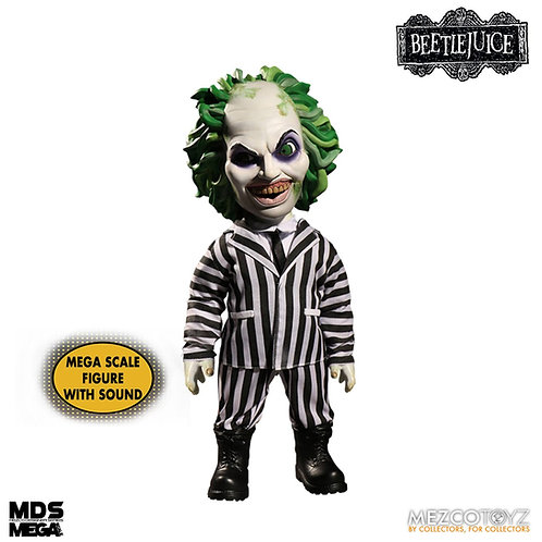 BEETLEJUICE MDS MEGA SCALE TALKING BEETLEJUICE (ACTION FIGURE)
