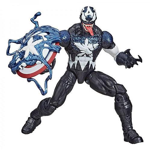 SPIDER-MAN MAXIMUM VENOM MARVEL LEGENDS VENOMIZED CAP. AMERICA (ACTION FIGURE)