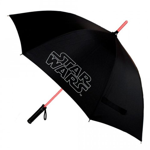 STAR WARS LIGHT UP FUNCTION LIGHTSABER GUARDA-CHUVA
