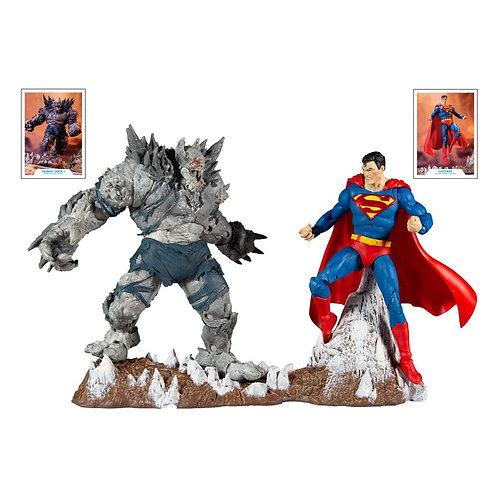 DC MULTIVERSE COLLECTOR MULTIPACK SUPERMAN VS DEVASTATOR (ACTION FIGURE)