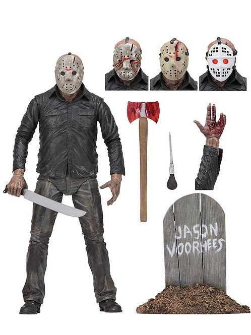 FRIDAY THE 13TH PART 5 ULTIMATE JASON (ACTION FIGURE)