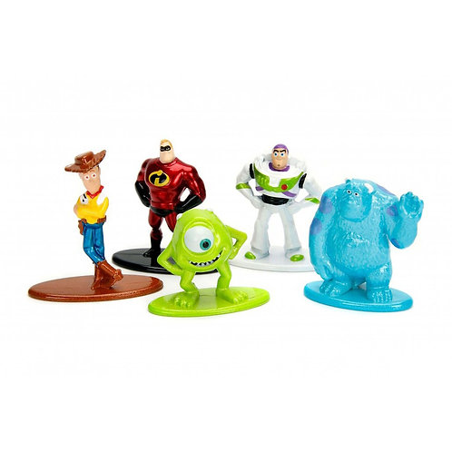 DISNEY NANO METALFIGS MINI FIGURES PIXAR PACK