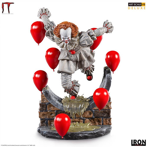 IT CHAPTER TWO DELUXE ART SCALE PENNYWISE (ESTÁTUA)